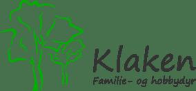Klaken Hobbydyr og familiedyr Logo