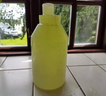 Drikkeflaske med alger